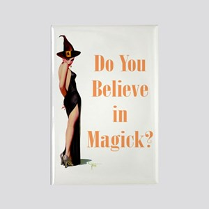 Do You Believe In Magick? Rectangle Magnet