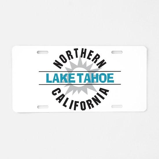 Lake Tahoe California Aluminum License Plate