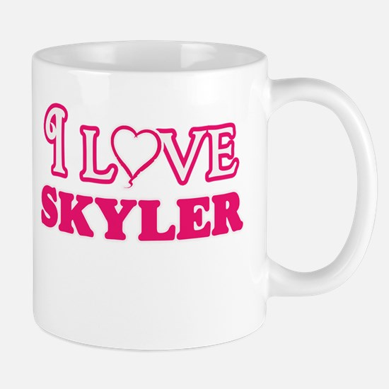 I Love Skyler Mugs