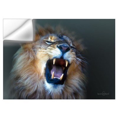 Lion Portrait Wall Decal