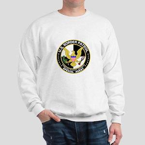 Amn US Border Patrol SpAgent Sweatshirt