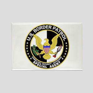 Amn US Border Patrol SpAgent Rectangle Magnet (10
