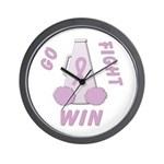 Lavender WIN Wall Clock