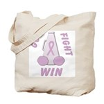 Lavender WIN Tote Bag