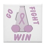 Lavender WIN Tile Coaster