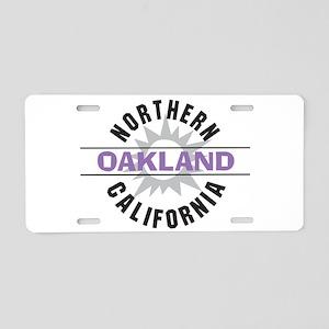 Oakland California Aluminum License Plate