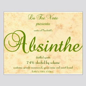 Absinthe Label - Small Poster