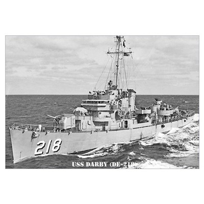 USS DARBY Canvas Art