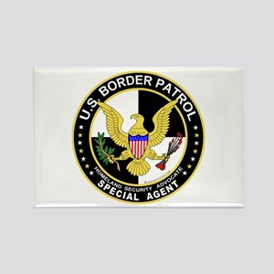 BdrPatrl US Border Patrol SpA Rectangle Magnet (10
