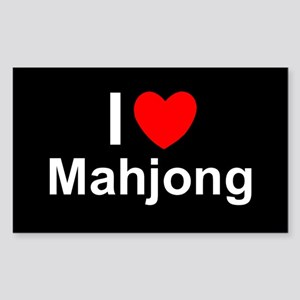 Mahjong Sticker (Rectangle)