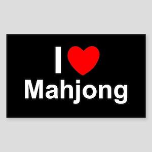 Mahjong Sticker (Rectangle)