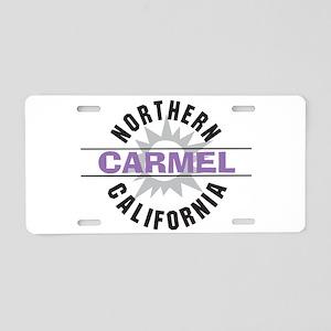 Carmel California Aluminum License Plate