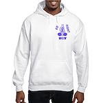 Periwinkle WIN Ribbon Hooded Sweatshirt