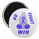 Periwinkle WIN Ribbon Magnet