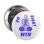 Periwinkle WIN Ribbon Button