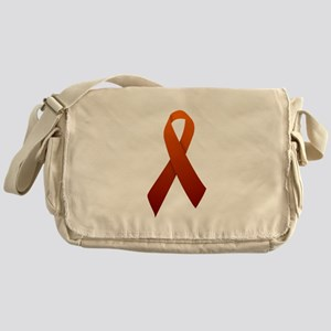Orange Ribbon Messenger Bag