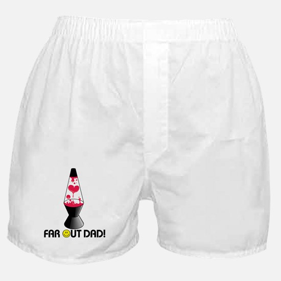 Far Out Dad Boxer Shorts