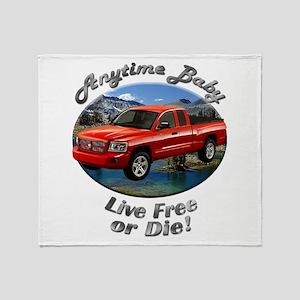 Dodge Dakota Throw Blanket