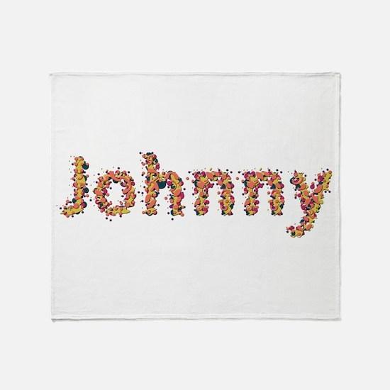 Johnny Fiesta Throw Blanket