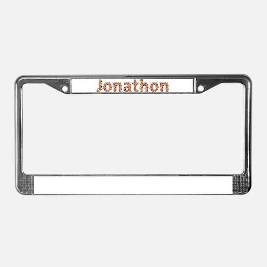 Jonathon Fiesta License Plate Frame