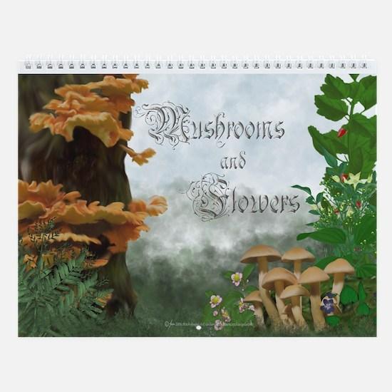 Mushrooms and FlowersCalendar