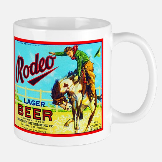 California Beer Label 2 Mug