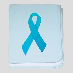 Light Blue Ribbon baby blanket