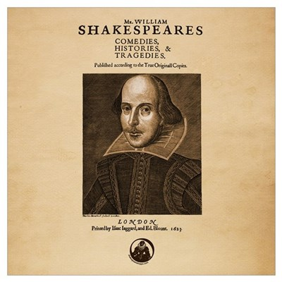 First Folio Poster