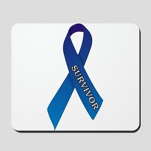 Blue Ribbon 'Survivor' Mousepad