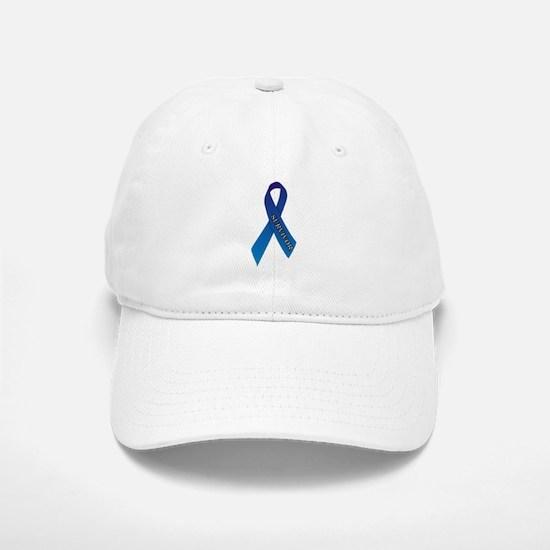 Blue Ribbon 'Survivor' Baseball Baseball Cap