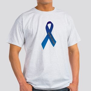 Blue Ribbon 'Survivor' Light T-Shirt