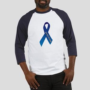 Blue Ribbon 'Survivor' Baseball Jersey