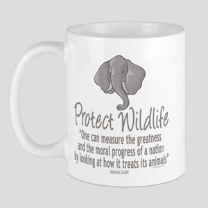 Protect Elephants Mug