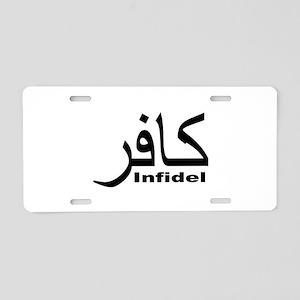 Infidel (1) Aluminum License Plate
