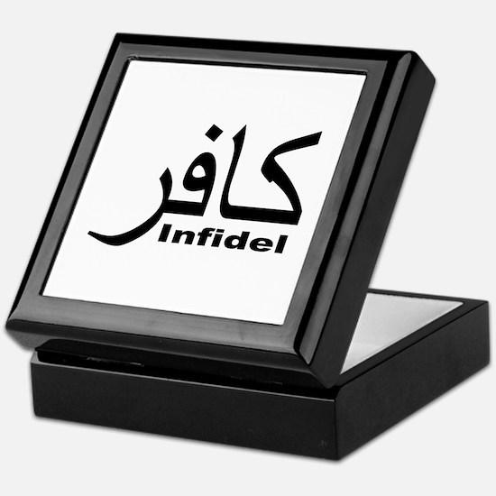 Infidel (1) Keepsake Box