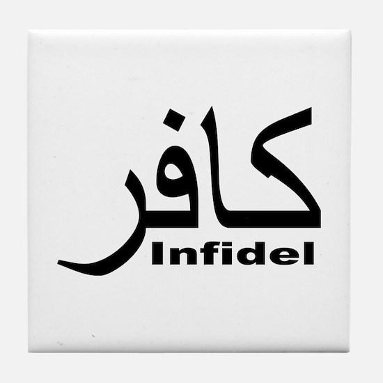 Infidel (1) Tile Coaster