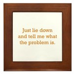 What's the Problem Framed Tile