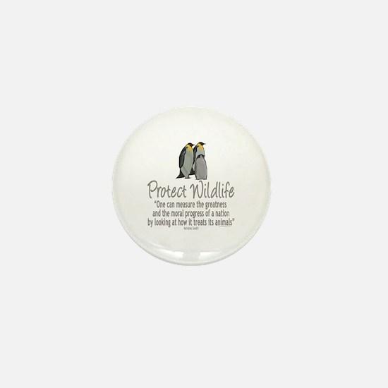 Protect Penguins Mini Button
