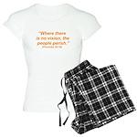 No Vision Women's Light Pajamas