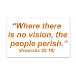 No Vision 22x14 Wall Peel