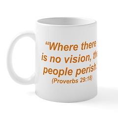 No Vision Mug