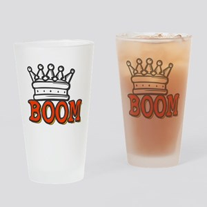 Boom King Drinking Glass