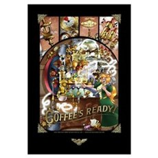Coffee Engine Canvas Art
