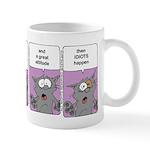 Idiots Happen Mugs