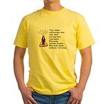 Look Inward Yellow T-Shirt