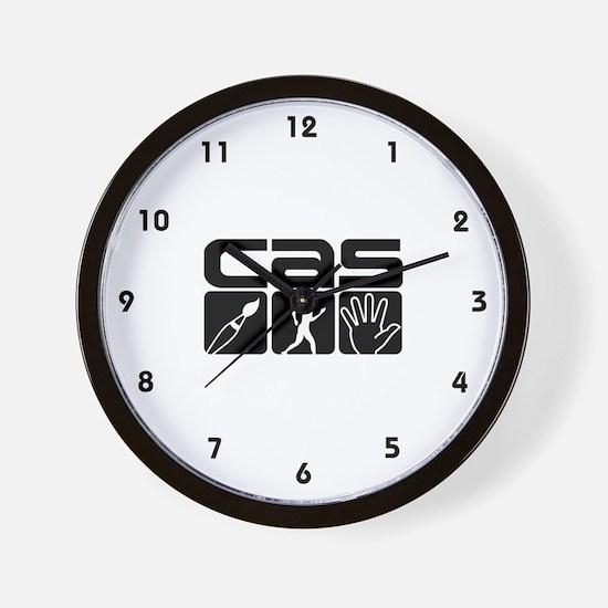 IB CAS Wall Clock
