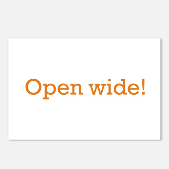 Open Wide Postcards (Package of 8)
