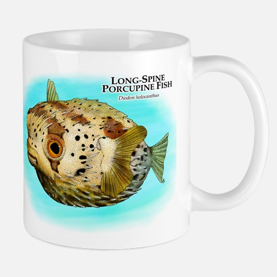 Long-Spine Porcupine Fish Mug