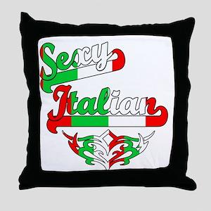 Sexy Italian Throw Pillow