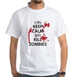 Keep Calm White T-Shirt